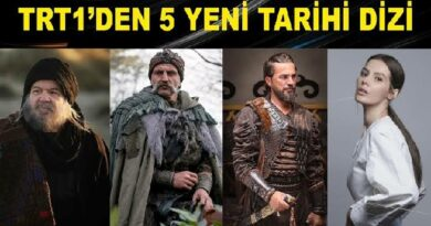 TRT'den 5 Yeni Tarihi Dizi