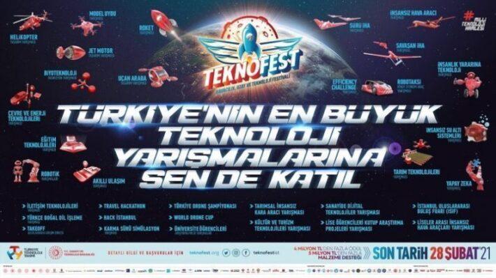 TEKNOFEST 2021 İstanbul Yarışma Başvuruları