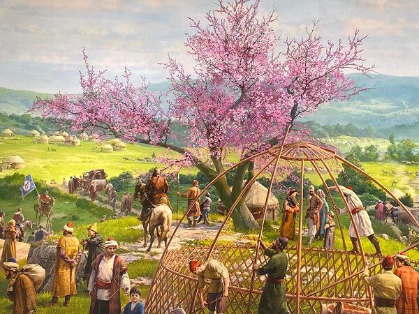 Bursanın Fethi erguvan ağacı